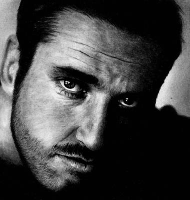 Drawing - Gerard Butler  by Rick Fortson