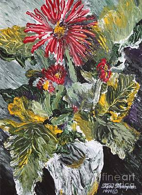 Painting - Gerbera Celebration Of Color by Terri Thompson