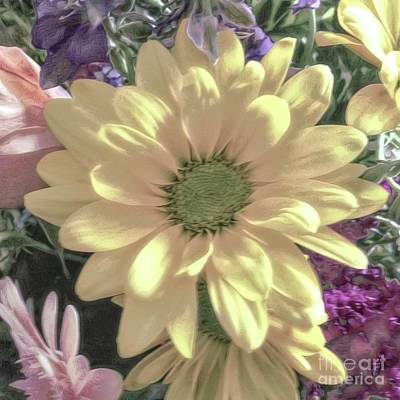 Photograph - Gerbera Daisy Bouquet by Luther Fine Art