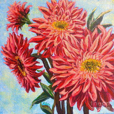 Painting - Gerbera Daisy by Gail Allen