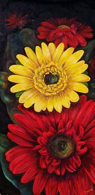 Painting - Gerbera by Dana Redfern