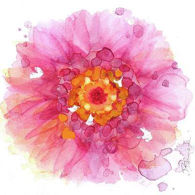 Painting - Gerbera by Dawn Derman