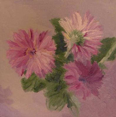 Painting - Gerberas Pg by Irena  Jablonski