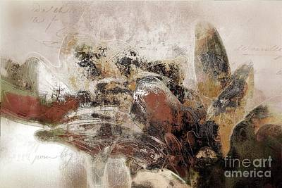 Art Collection Mixed Media - Gerberie - 152s by Variance Collections