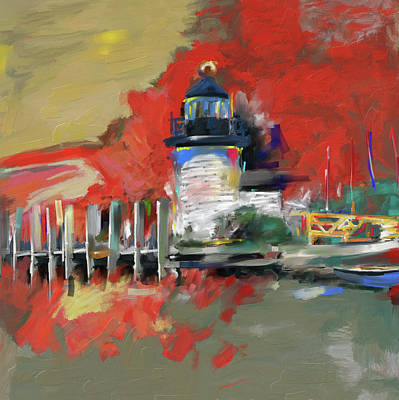 Tourist Site Painting - Gerda IIi 285 1 by Mawra Tahreem