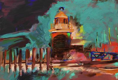 Tourist Site Painting - Gerda IIi 285 3 by Mawra Tahreem