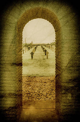 Photograph - Romagne-sous-montfaucon, France - German Cemetery by Mark Forte