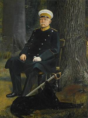 German Chancellor Otto Von Bismarck Art Print