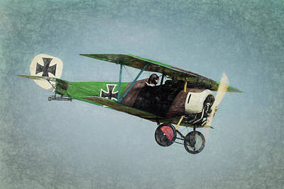 Photograph - German Fighter by James Barber
