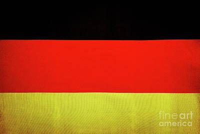 Photograph - German Flag by Anna Om
