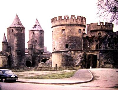 Photograph - German Gate In Metz 1955 by Will Borden