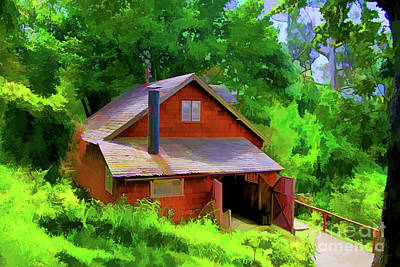 Digital Art - German House by Rick Bragan