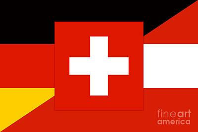 German Language Flag Original