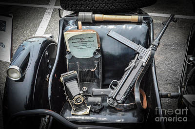 Photograph - German Sidecar by Dale Powell