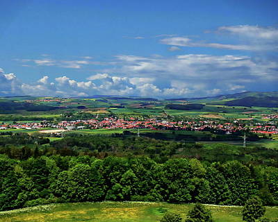 Photograph - German Town View by Anthony Dezenzio