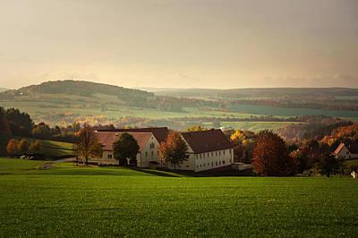 German Village Photograph - German Village In Autumn Day by Jenny Rainbow
