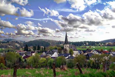 Photograph - German Village View by Anthony Dezenzio