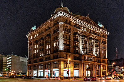 Photograph - Germania Building by Randy Scherkenbach