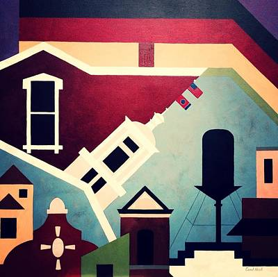 Nashville Tennessee Painting - Germantown Nashville by Carol Neal
