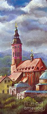 Pastels Painting - Germany Baden-baden 05 by Yuriy  Shevchuk