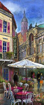 Europe Painting - Germany Baden-baden 07 by Yuriy  Shevchuk