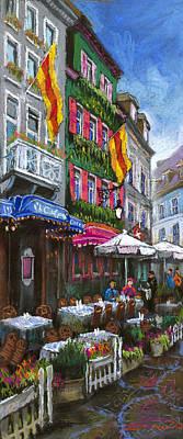 Germany Baden-baden 10 Print by Yuriy  Shevchuk