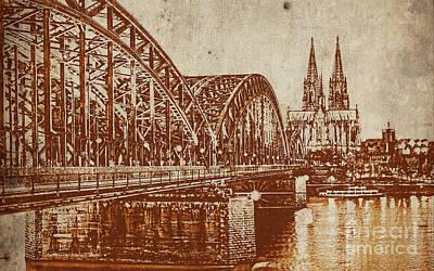Germany Bridge  Original by Gull G