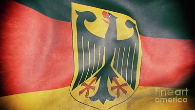 Modern Kitchen - Germany flag 3d illustration by Giordano Aita