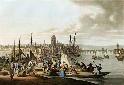 Photograph - Germany, Frankfurt, 1815 by Granger
