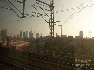 Photograph - Germany Trains by Deborah DeLaBarre