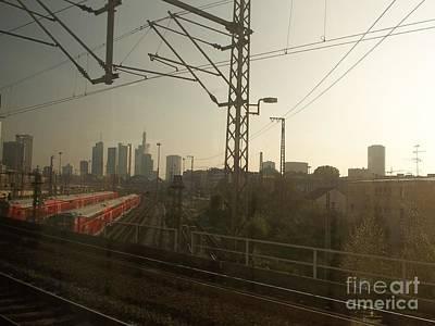 Photograph - Germany Trains by Deborah DeLaBarre