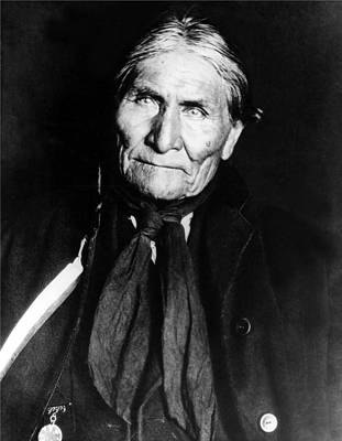 Wall Art - Photograph - Geronimo, Apache Leader, Undated by Everett