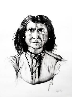 Drawing - Geronimo by Ayasha Loya