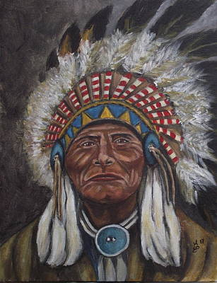 Painting - Geronimo by Kim Selig