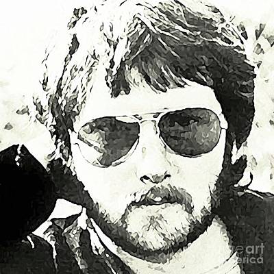 Rafferty Painting - Gerry Rafferty  by John Malone