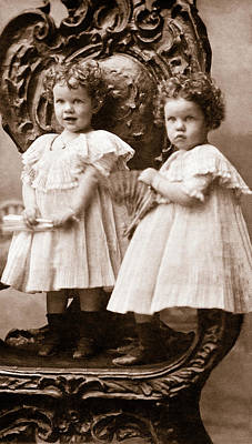 Photograph - Gertha And Nettie Johns - Sisters by Mark Tisdale