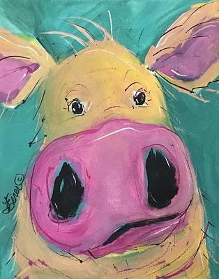 Painting - Gertie by Terri Einer