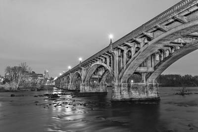 Photograph - Gervais Street Bridge by Harry B Brown