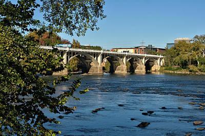Photograph - Gervais Street Bridge 47 by Joseph C Hinson Photography