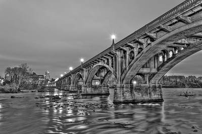 Gervais Street Bridge II Art Print