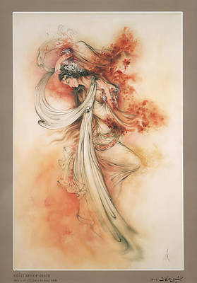 Mystic Desert Painting - Gestures Of Grace by Salma