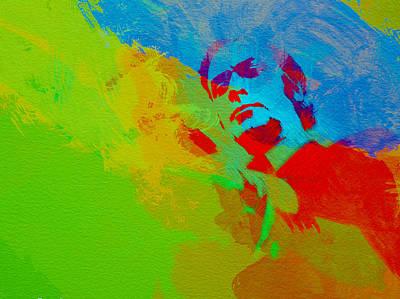 Movie Art Painting - Get Carter by Naxart Studio