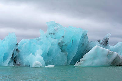 Unique Gifts Photograph - Get Inspired Glacier Lagoon by Betsy Knapp