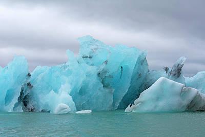 Get Inspired Glacier Lagoon Art Print