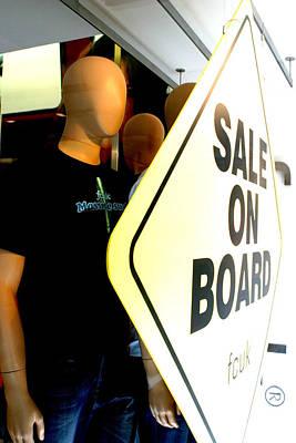 get on Board Art Print by Jez C Self