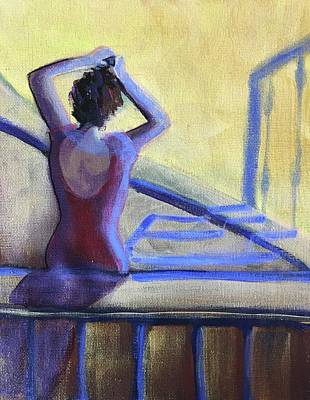 Painting - Get Ready by Cherylene Henderson