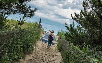 Art Print featuring the photograph Get To The Beach by T Brian Jones