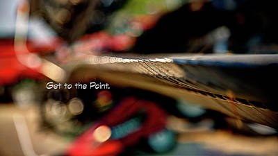 Photograph - Get To The Point 6734 Ts by Jerry Sodorff