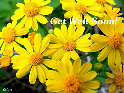 Get Well Soon Art Print by Ed Smith