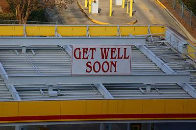 Photograph - Get Well Soon by Kathryn Meyer